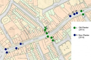 Map of Planters East Street
