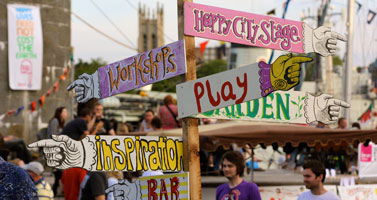 Happy City at Bristol Harbour Festival 2014